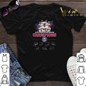 Awesome Signatures 2019 Al Central Division Champions Minnesota Twins shirt