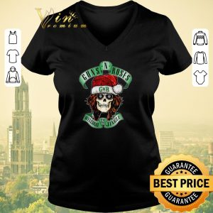 Awesome Skull Santa Guns N Roses GNR welcome to the Jingle shirt sweater