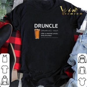 Beer Druncle like a normal uncle only drunker shirt sweater