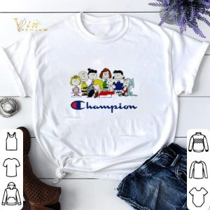 Champion Snoopy Charlie Brown and friends Peanuts shirt sweater