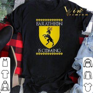 Christmas House Baratheon Is Coming GOT shirt sweater