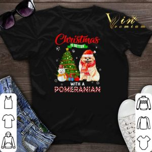 Christmas is better with a Pomeranian shirt sweater