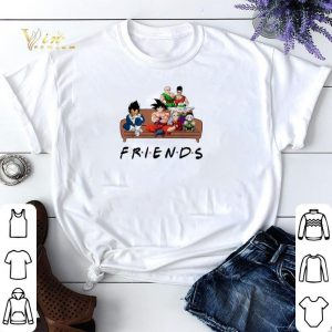 Friends Dragon Ball characters shirt sweater