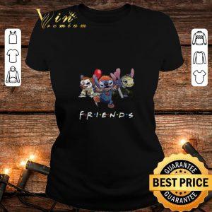 Friends Stitch Pennywise Chucky Jason Voorhees shirt