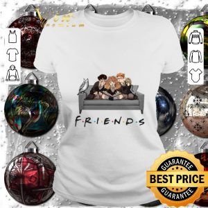Friends TV Shows Characters Harry Potter shirt