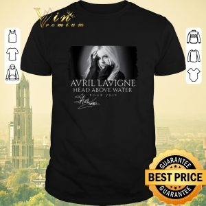 Funny Signature Avril Lavigne Head Above Water Tour 2019 shirt