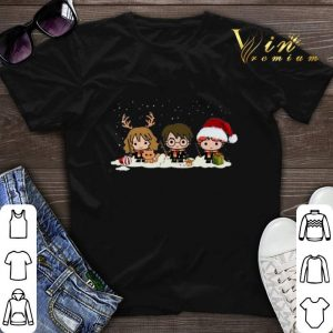Harry Potter characters Christmas shirt sweater