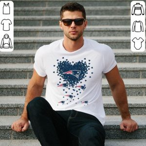 Heart New England Patriots Love shirt