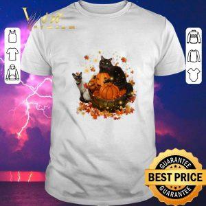 Hot Halloween Autumn Cats shirt