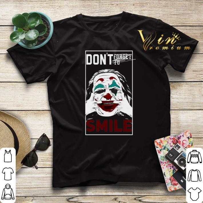 Joaquin Phoenix Joker don t forget to smile shirt sweater 4 - Joaquin Phoenix Joker don't forget to smile shirt sweater