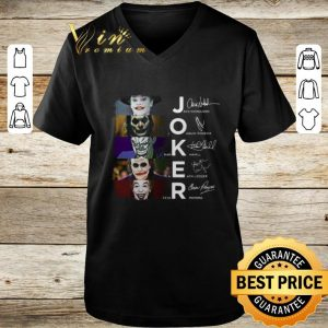 Joker 2019 Joaquin Phoenix Heath Ledger shirt 2
