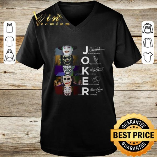 Joker 2019 Joaquin Phoenix Heath Ledger shirt