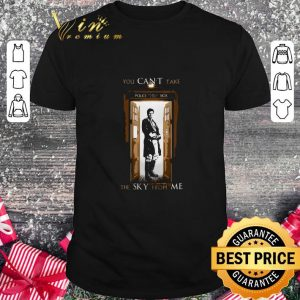 Premium Firefly you can't take police public call box the sky from me shirt