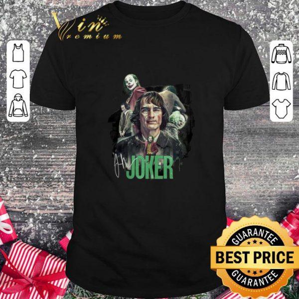Premium Joaquin Phoenix Joker signature shirt