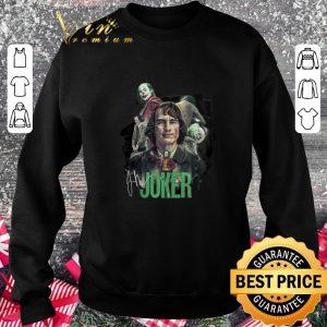 Premium Joaquin Phoenix Joker signature shirt 2