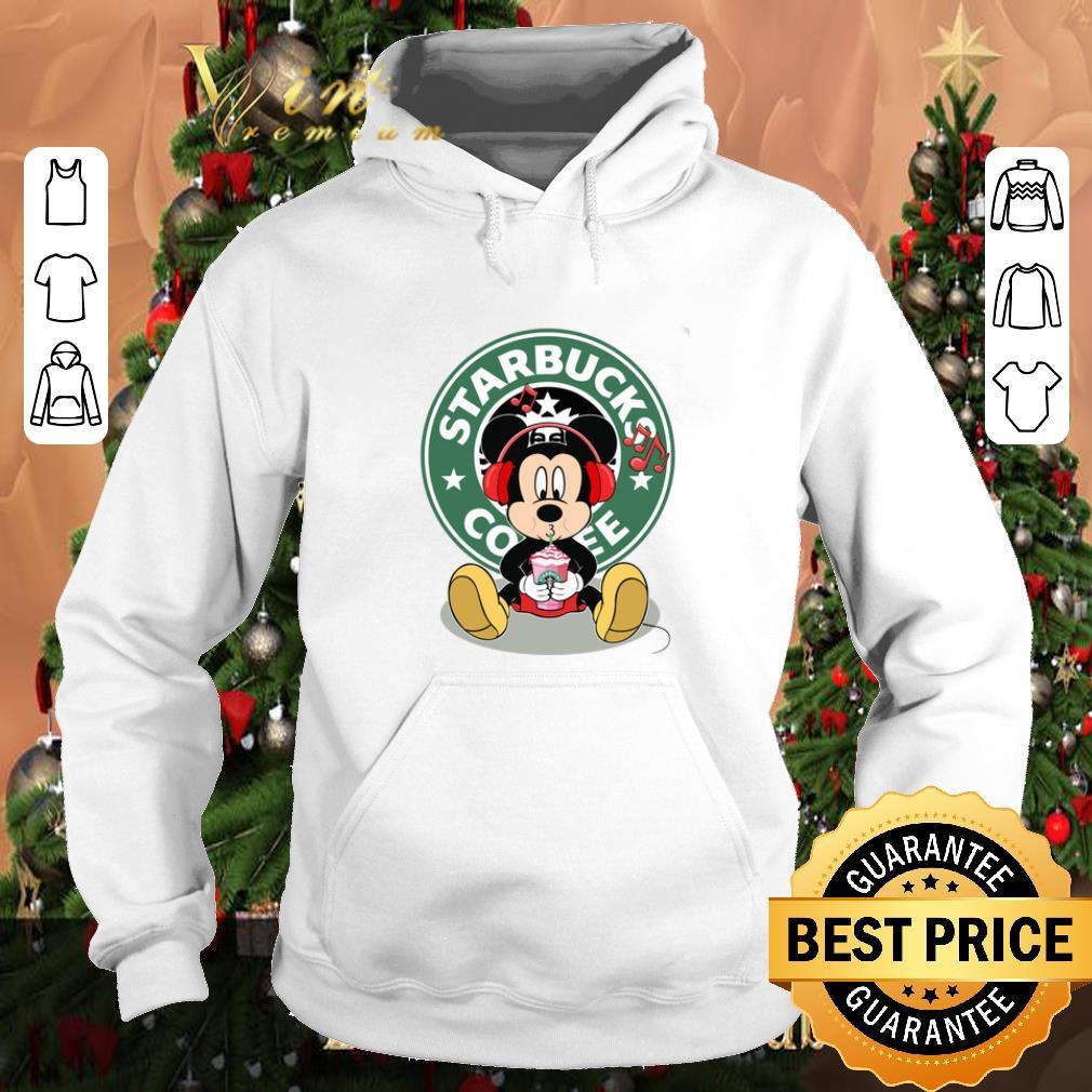 Pretty Mickey drink Starbucks coffee shirt 4 1 - Pretty Mickey drink Starbucks coffee shirt
