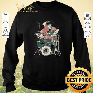 Pretty Samurai Drummer shirt 2