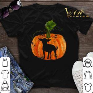 Pumpkin Halloween Chihuahua Inside shirt