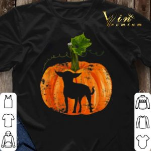 Pumpkin Halloween Chihuahua Inside shirt 2