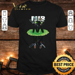 Rick and Morty crossover reflection water mirror MIB shirt