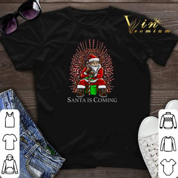 Santa is coming Game Of Thrones shirt sweater