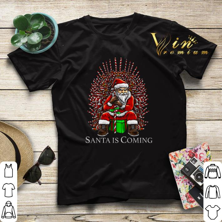 Santa is coming Game Of Thrones shirt sweater 4 - Santa is coming Game Of Thrones shirt sweater