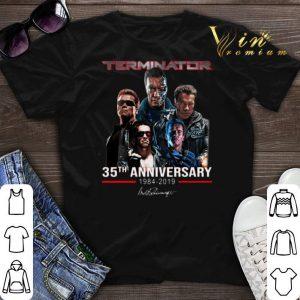 Signature Terminator 35th anniversary 1984-2019 shirt