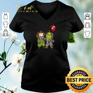 Top Baby Pennywise and Grinch shirt sweater