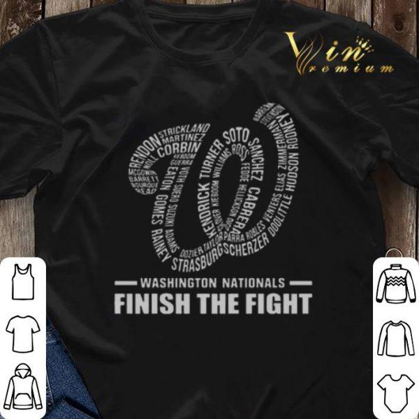 Washington Nationals finish the fight shirt sweater