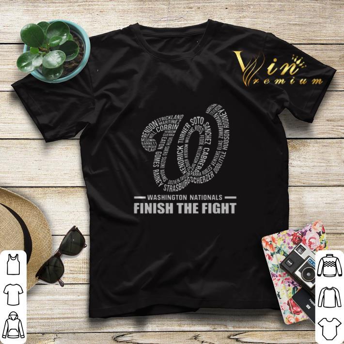 Washington Nationals finish the fight shirt sweater 4 - Washington Nationals finish the fight shirt sweater