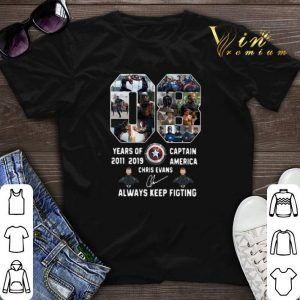 08 years of Captain America 2011 2019 Chris Evans shirt sweater