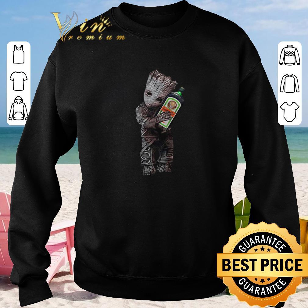 Awesome Baby Groot hug Jagermeister shirt sweater 4 - Awesome Baby Groot hug Jagermeister shirt sweater