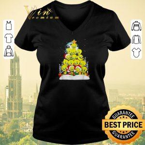 Awesome Christmas tree Tweety Santa shirt