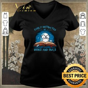 Awesome Harry Potter Easily distracted books and owls shirt sweater