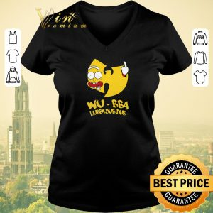 Awesome Rick Sanchez Wu-Tang Clan Wu-Bba Lubba Dub Dub shirt sweater