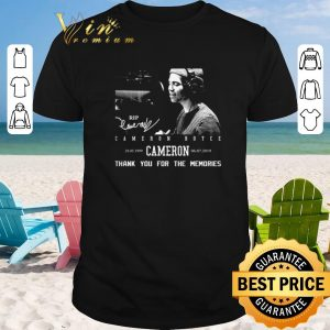 Awesome Rip Cameron Boyce 1999-2019 signature thank you for the memories shirt sweater 2019