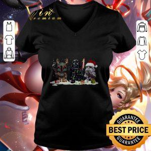 Christmas Darth Vader Jango Fett Stormtrooper shirt