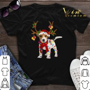 Christmas Jack Russell Reindeer shirt