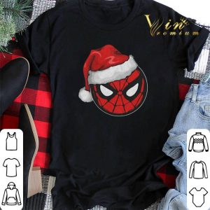 Christmas Santa Spider Man shirt