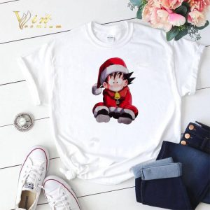 Christmas shirt Son Goku Santa sweater 1