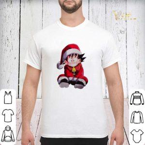 Christmas shirt Son Goku Santa sweater 2