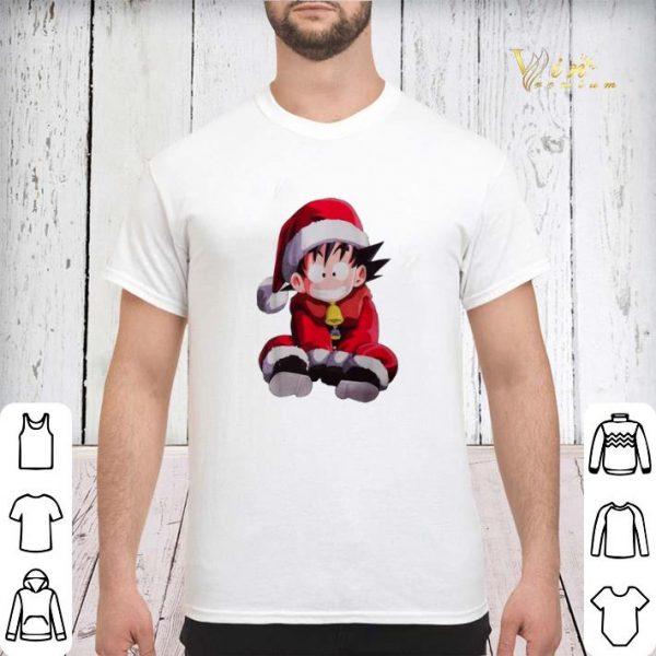 Christmas shirt Son Goku Santa sweater