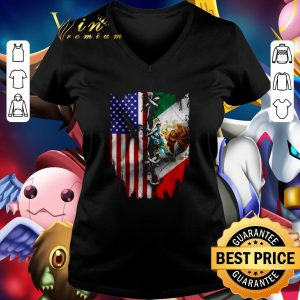 Cool 4th Of July independence day Mexico United States shirt