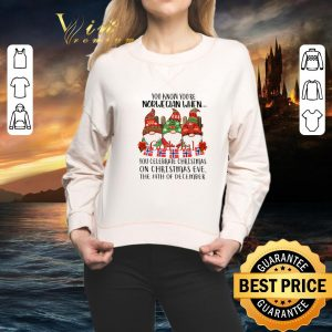 Cool Gnome You know you're Norwegian God Jul Christmas 24th december shirt