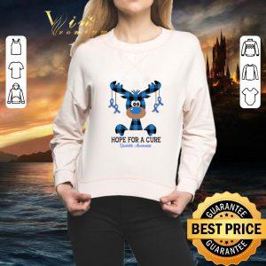 Cool Reindeer hope for a cure Diabetes Awareness Christmas shirt