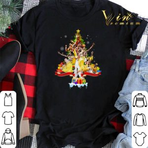 Freddie Mercury Christmas tree gifts shirt sweater 1