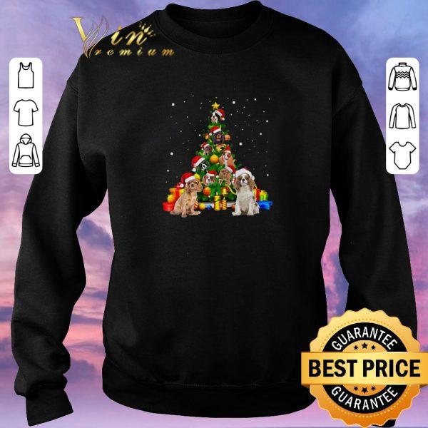 Funny Christmas Tree gift Cavalier King Charles Spaniels shirt