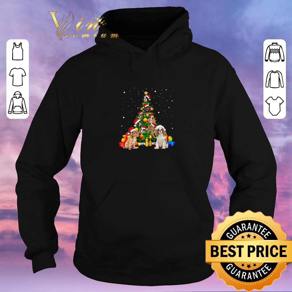 Funny Christmas Tree gift Cavalier King Charles Spaniels shirt 4 - Funny Christmas Tree gift Cavalier King Charles Spaniels shirt