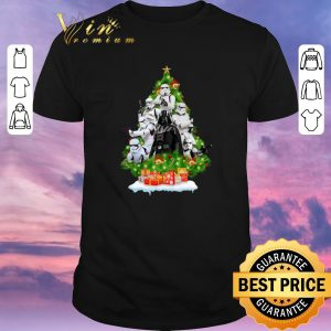 Funny Darth Vader Stormtrooper Christmas Tree Gift shirt sweater