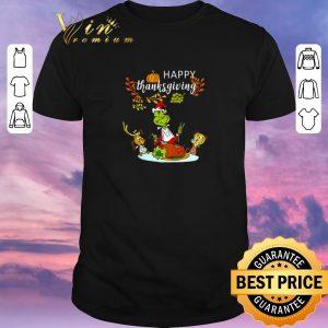 Funny Happy thanksgiving Grinch shirt